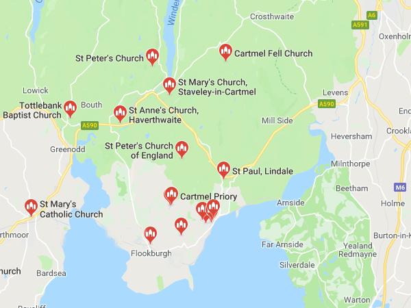 Churches Together - Cartmel Peninsula