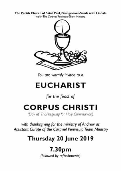 Corpus Christi - Andrew Farewell Service - 20 June
