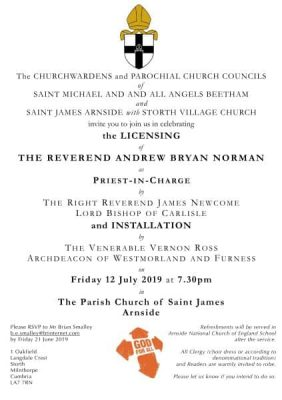Licensing and Installation of Andrew Norman
