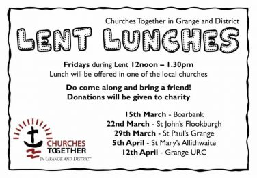Lent Lunches 2019